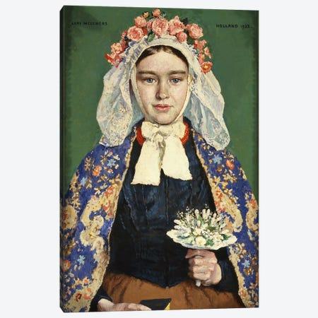 The Bride of Brabant, 1928  Canvas Print #BMN5725} by Julius Gari Melchers Canvas Print