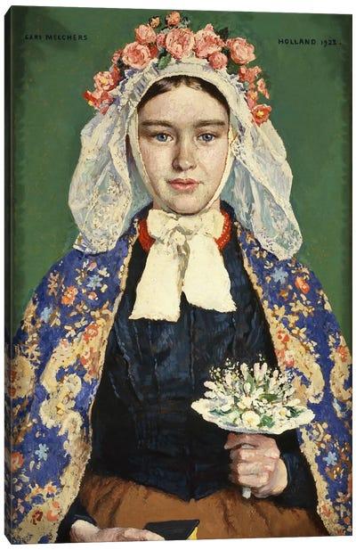 The Bride of Brabant, 1928  Canvas Art Print