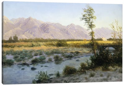 Prairie Landscape Canvas Print #BMN5726