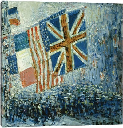 The Big Parade, 1917  Canvas Art Print