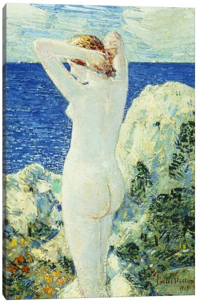 The Bather, 1919  Canvas Art Print