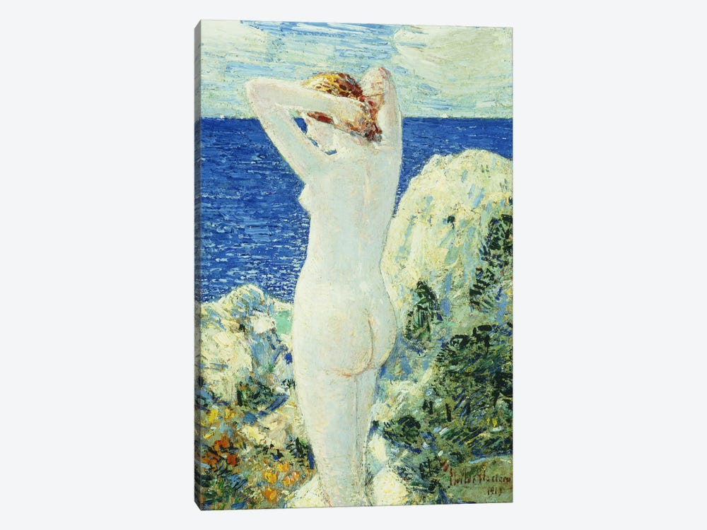 The Bather, 1919  by Childe Hassam 1-piece Canvas Art Print