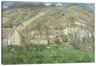 Hamlet in the Cliffs near Giverny (Hameau de Falaises pres Giverny), 1885  Canvas Print #BMN5741