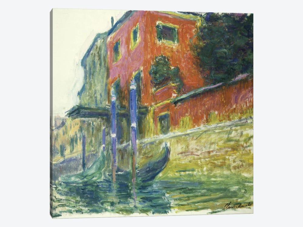 The Red House (La Maison Rouge), 1908  by Claude Monet 1-piece Canvas Artwork