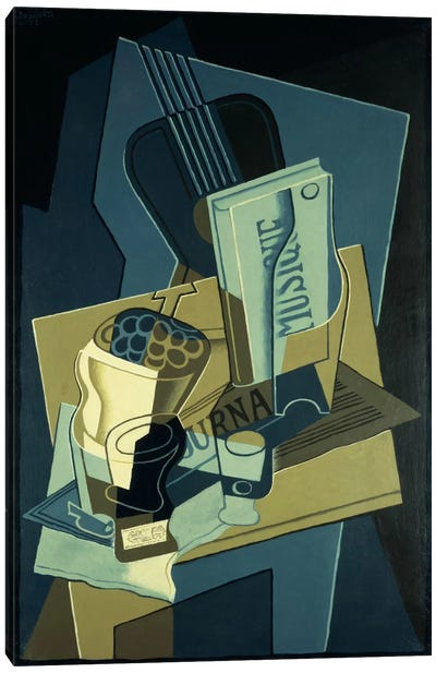 Music Book (Le Cahier de Musique), 1922 Canvas Art Print
