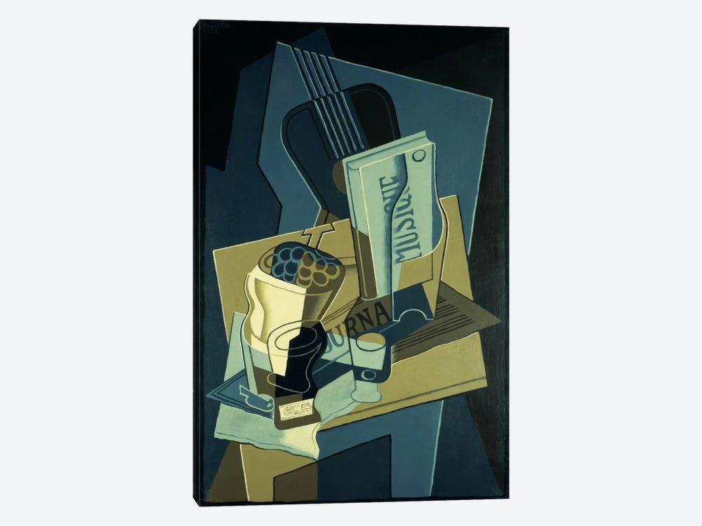 Music Book (Le Cahier de Musique), 1922  by Juan Gris 1-piece Canvas Print