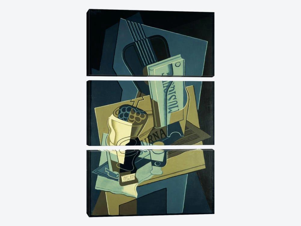 Music Book (Le Cahier de Musique), 1922  by Juan Gris 3-piece Canvas Print