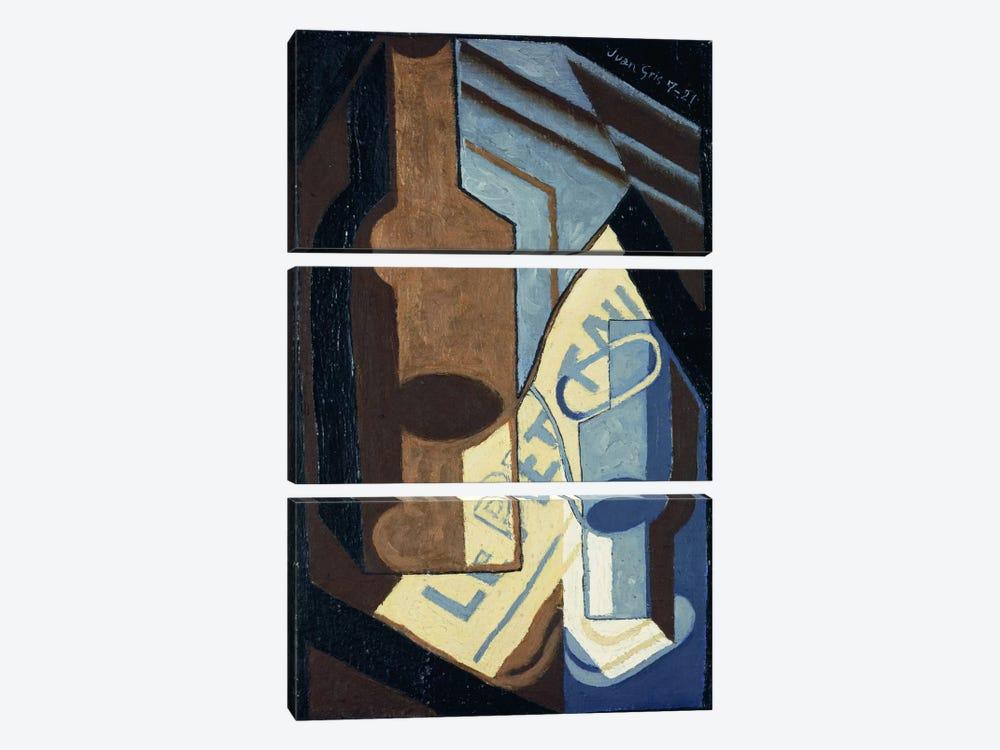 Bottle and Glass (Bouteille et Verre), 1921  by Juan Gris 3-piece Canvas Artwork