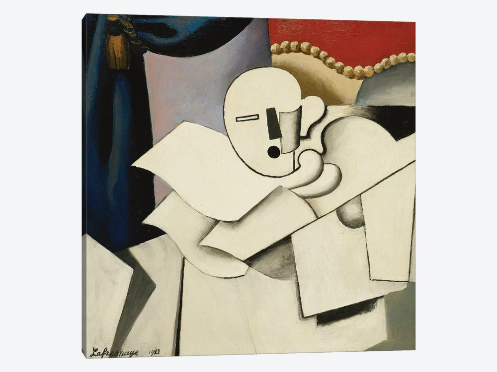 The Clown (Le Pierrot), 1922  by Roger de la Fresnaye 1-piece Canvas Art