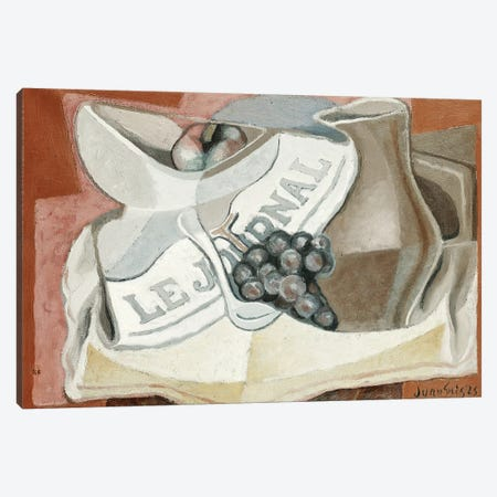 The Bunch of Grapes (La Grappe de Raisins), 1925  Canvas Print #BMN5753} by Juan Gris Art Print