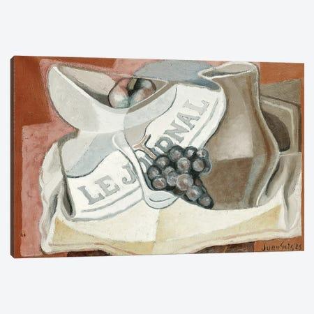 The Bunch of Grapes (La Grappe de Raisins), 1925  Canvas Print #BMN5753} by Juan Gris Art Print