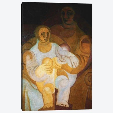 Mother and Child (Mere et Enfant), 1922  Canvas Print #BMN5762} by Juan Gris Canvas Art