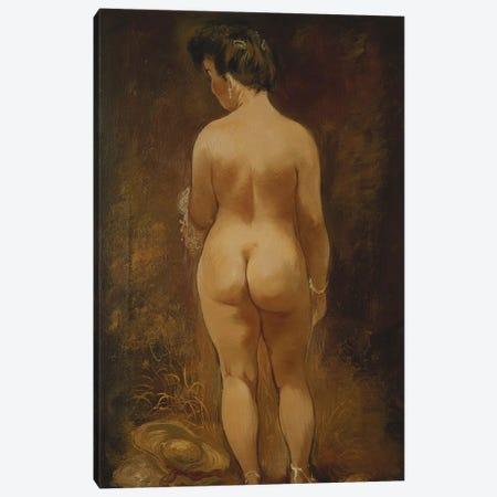 Adam and Eve (Adam und Eva), 1910  Canvas Print #BMN5763} by August Macke Canvas Artwork