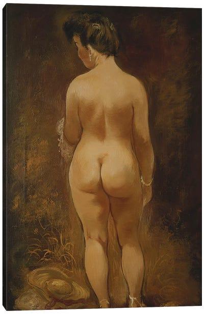 Adam and Eve (Adam und Eva), 1910  Canvas Art Print