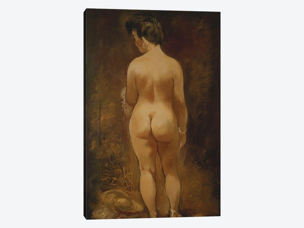Adam and Eve (Adam und Eva), 1910  by August Macke 1-piece Canvas Art Print
