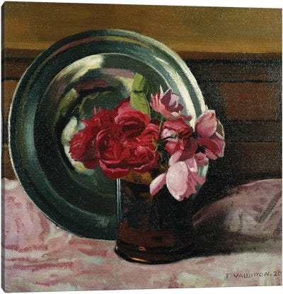 Still Life with Roses (Nature Morte aux Roses), 1920  Canvas Art Print