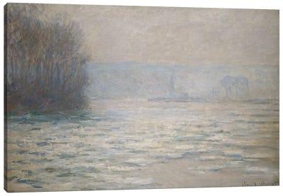 Floods on the Seine near Bennecourt (Debacle, La Seine pres Bennecourt), 1893  Canvas Print #BMN5774
