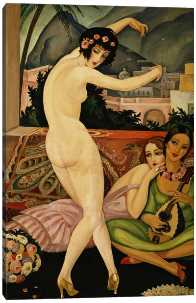 The Dancer (La Danseuse) Canvas Art Print