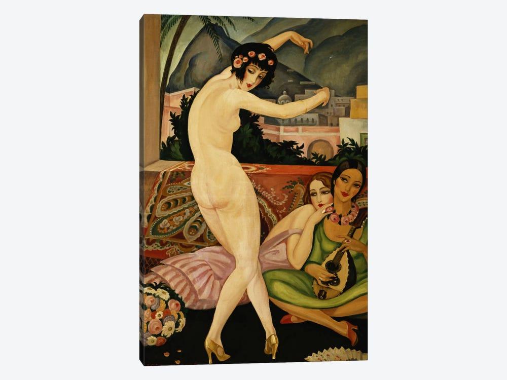 The Dancer (La Danseuse) by Gerda Marie Frederike Wegener 1-piece Canvas Wall Art