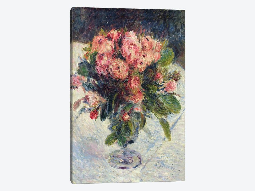Moss-Roses, c.1890  by Pierre-Auguste Renoir 1-piece Art Print