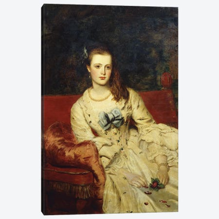 Wandering Thoughts,  Canvas Print #BMN5785} by William Powell Frith Art Print