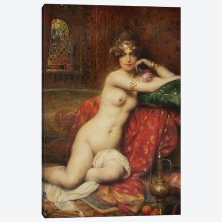 Hors Concours Femme d'Orient, 1919  Canvas Print #BMN5793} by Henri Adrien Tanoux Canvas Print