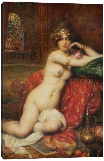 Hors Concours Femme d'Orient, 1919  Canvas Art Print