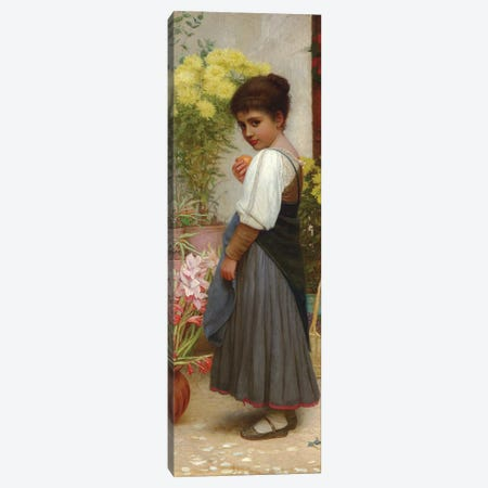 The Flower Merchant  Canvas Print #BMN5799} by Kate Perugini Canvas Print