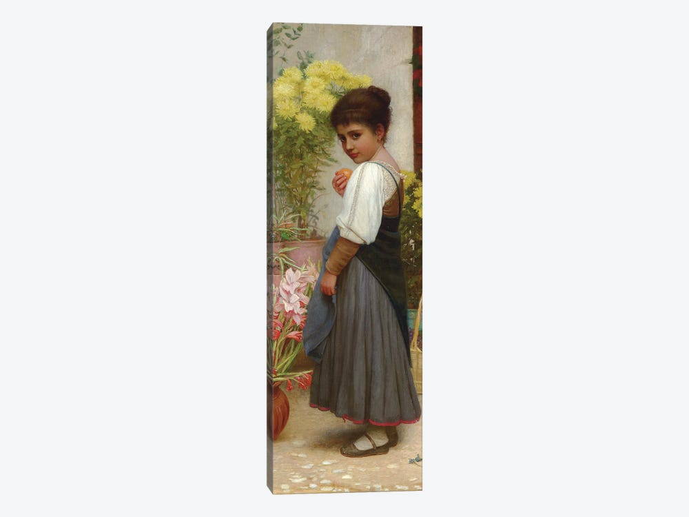 The Flower Merchant  by Kate Perugini 1-piece Canvas Wall Art