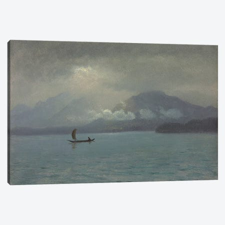 Northwest Coast, c.1889  Canvas Print #BMN5803} by Albert Bierstadt Art Print