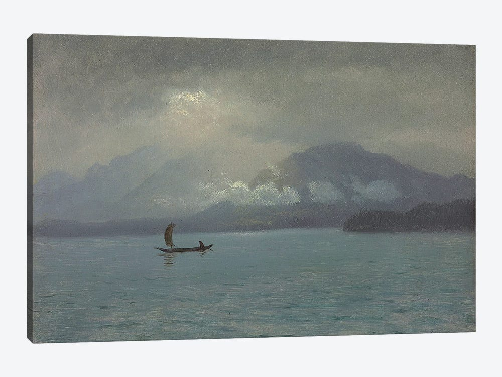 Northwest Coast, c.1889  by Albert Bierstadt 1-piece Canvas Print
