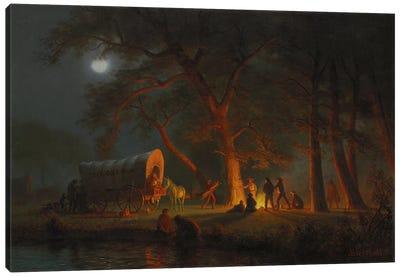 Oregon Trail  Canvas Art Print
