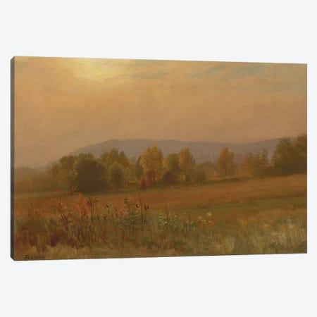 Autumn landscape, New England  Canvas Print #BMN5816} by Albert Bierstadt Art Print