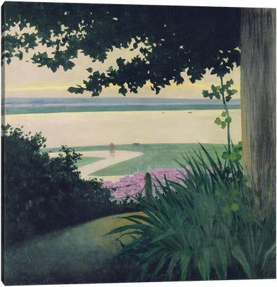 Honfleur and the Baie de la Seine, 1910  Canvas Art Print