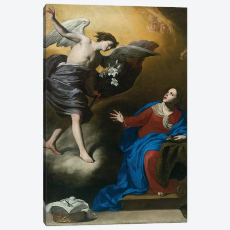 Annunciation  Canvas Print #BMN5825} by Massimo Stanzione Canvas Art