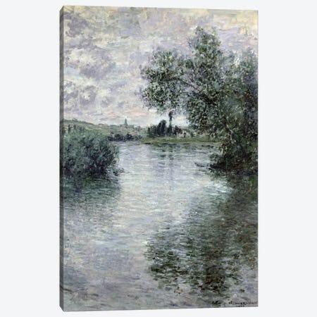 The Seine at Vetheuil, 1879  Canvas Print #BMN582} by Claude Monet Canvas Print