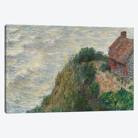 Fisherman's House at Petit Ailly, 1882  Canvas Print #BMN5832} by Claude Monet Canvas Artwork