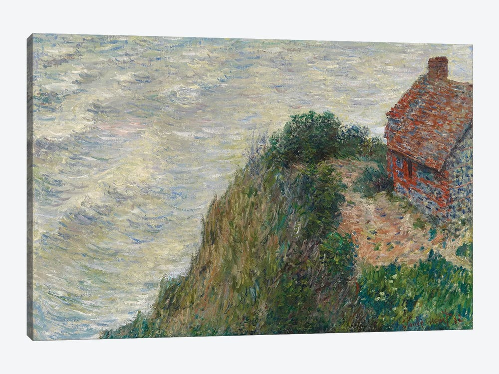 Fisherman's House at Petit Ailly, 1882  by Claude Monet 1-piece Canvas Print