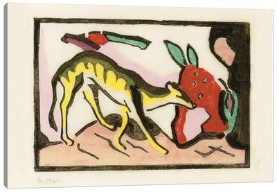 Mythical animal  Canvas Art Print