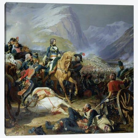 The Battle of Rivoli, 1844   Canvas Print #BMN583} by Felix Philippoteaux Canvas Print
