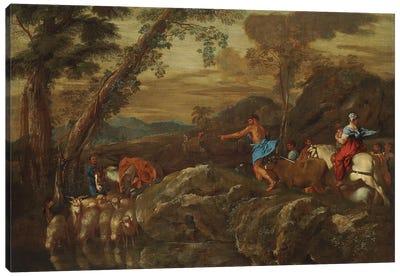 Jacob's Journey, 1633  Canvas Art Print