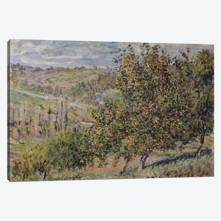 Apple Blossom, 1878  Canvas Print #BMN5843} by Claude Monet Canvas Art Print