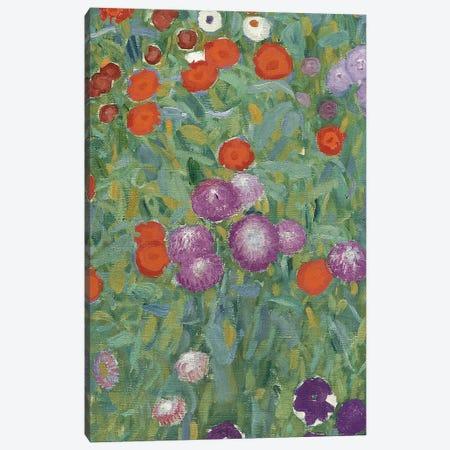 Flower Garden, 1905-07   Canvas Print #BMN5845} by Gustav Klimt Canvas Artwork