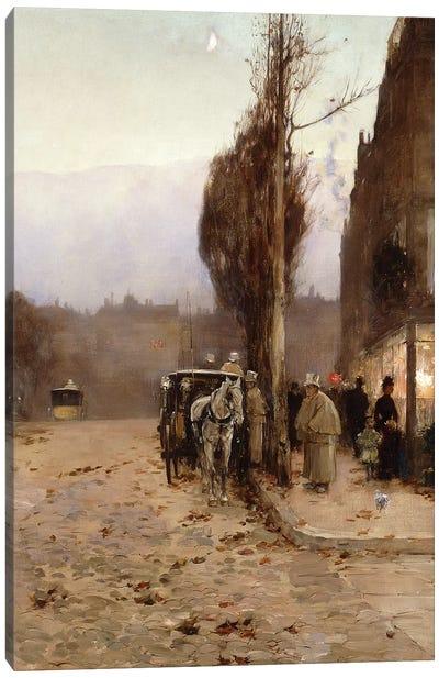 Paris at Twilight, 1887  Canvas Art Print