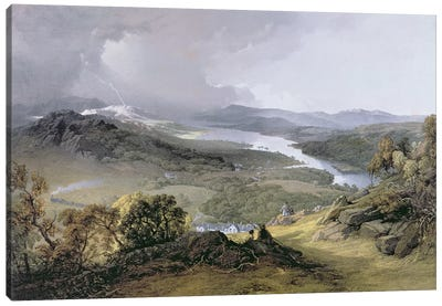 Windermere: from Orrest Head  Canvas Art Print
