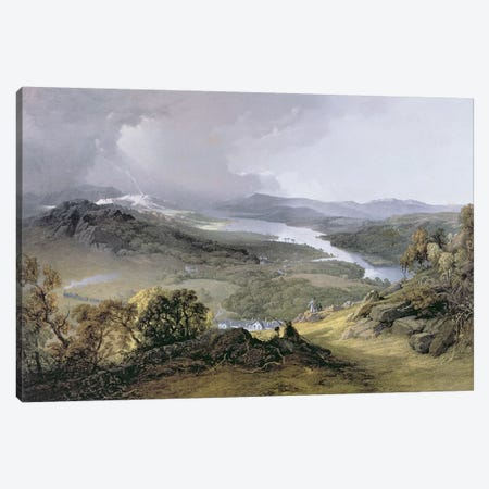 Windermere: from Orrest Head  Canvas Print #BMN584} by James Baker Pyne Canvas Artwork