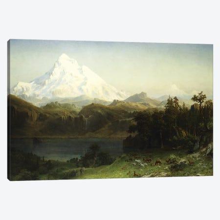 Mount Hood in Oregon,  Canvas Print #BMN5856} by Albert Bierstadt Canvas Print