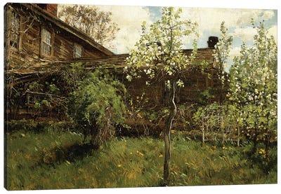 Old House, Dorchester, 1884  Canvas Art Print