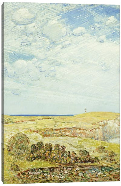 Montauk Point, 1922  Canvas Art Print