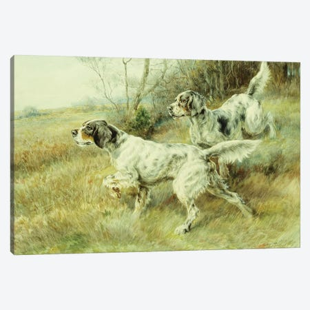 The Hunt,  Canvas Print #BMN5865} by Edmund Henry Osthaus Canvas Wall Art